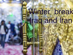 Winter break Iraq  27 Dec-07 Jan,2019