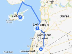 Jordan-Lebanon-Cyprus