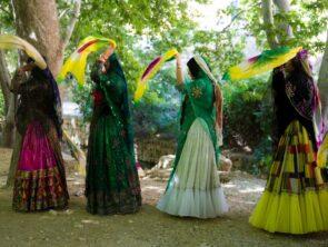 Qashqai Nomads in Persia